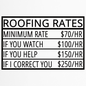Dachdecker: Roofing Rates - Thermobecher
