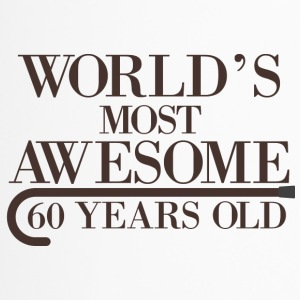 60. Geburtstag: World´s Most Awesome 60 Years Old - Thermobecher