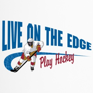 Play Hockey Live On The Edge - Travel Mug