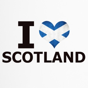 I LOVE SCOTLAND FLAG - Thermobecher
