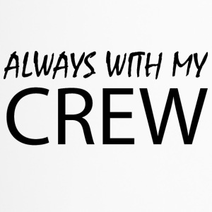 Always with my CREW - Thermobecher