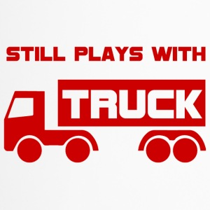 Mechanic: Still plays with Truck. - Travel Mug