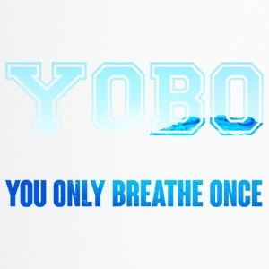Swimming / Swimmer: YOBO - You Only Breathe Once - Travel Mug