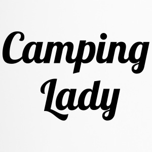 Camping Lady - Travel Mug