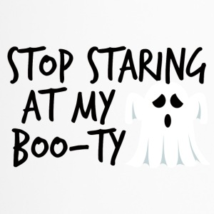 Halloween: Stop Staring At My Boo-Ty - Travel Mug