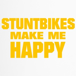 Stunt Bikes Make Me Happy - Travel Mug