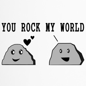 Design YOU ROCK MY WORLD - Thermobecher