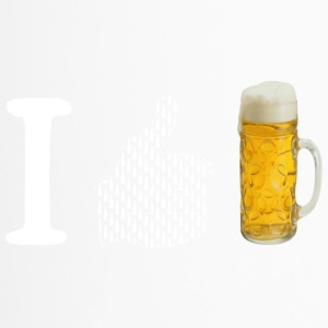 I like beer - Travel Mug