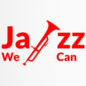JAZZ WE CAN - rot - Thermobecher