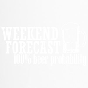 WEEKEND FORECAST 100% BEER weiß - Thermobecher