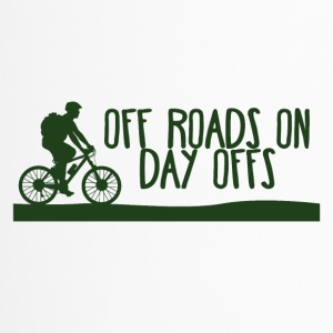Fiets: Off Wegen On - Day offs. - Thermo mok
