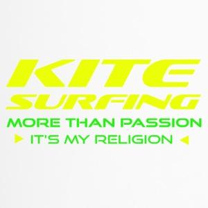 KITESURFING - PLUS DE PASSION - ITS MY RELIGION - Mug thermos
