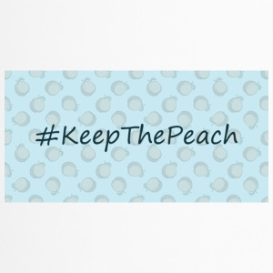 Hashtag Keep The Peach - Thermobecher