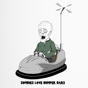 Zombies mögen Bumper Cars - Thermobecher