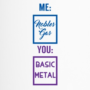 Periodieke lijst: Me - Nobles gas. You - Basic Metal - Thermo mok