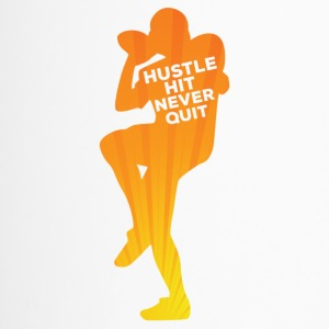 Football: Hustle frappé Never Quit - Mug thermos