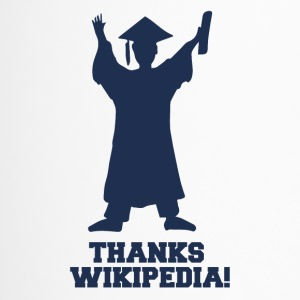 High School / Graduation: Tack Wiki.pedia! - Termosmugg