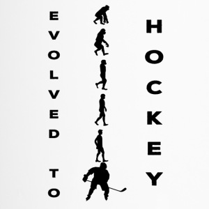 Hockey: Evolved to Hockey - Evolution - Travel Mug