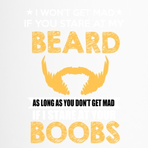BEARD - I wont get mad - Travel Mug