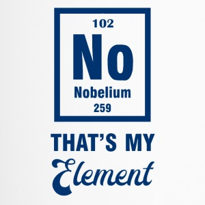 Periodensystem: Nobelium - that´s my Element - Thermobecher