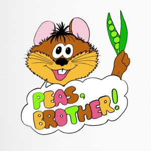 PEAS, BROTHER! - Thermobecher
