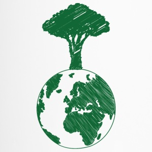 Earth Day / Earth Day: Earth and Tree - Travel Mug