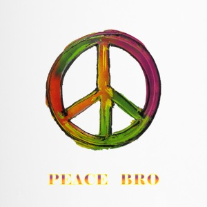 PEACE sign - PEACE BRO - Travel Mug