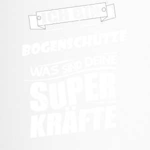 T-Shirt Bogenschütze Superkraft - Thermobecher