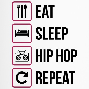 Eat Sleep Hip Hop Repeat - Thermobecher