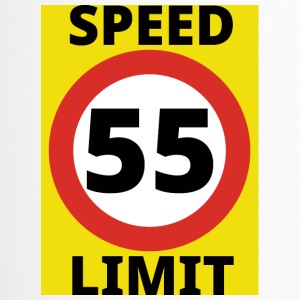 55. Geburtstag: Speed Limit 55 - Thermobecher
