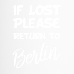 If lost - Berlin - Thermobecher