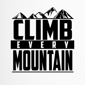 Climb every mountain - Travel Mug