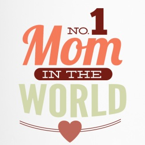 number 1 mom in the world - Travel Mug
