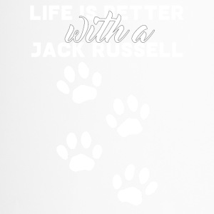 Dog / Jack Russell: Life Is Better With A Jack - Travel Mug