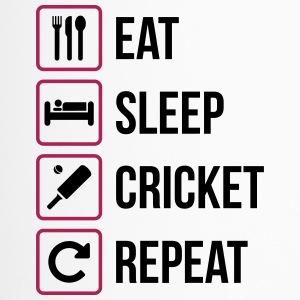 Eat Sleep Cricket Repeat - Thermobecher