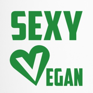 sexy vegetarian - Travel Mug