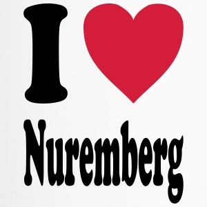 I love Nuremberg (Nürnberg) - Thermobecher