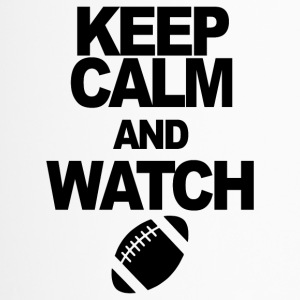 KEEP CALM AND WATCH FOOTBALL - Thermobecher