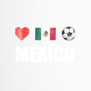 Voetbal van Mexico Mexicaanse Voetbal T-shirt - Thermo mok
