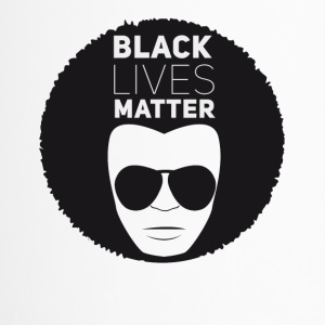 black lives matter liberation disco afro black su - Travel Mug