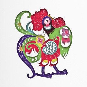 Chinese Zodiac Rooster Papercut - Termokopp