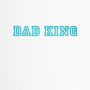 dab dabbing King Football touchdown cool fun sport - Thermobecher