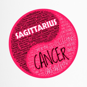 Sagittarrius and Cancer Zodiac Sign Woman Love Mug - Travel Mug