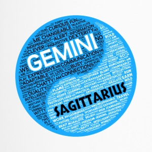 Gemini and Sagittarius Zodiac Sign Man Love Mug - Travel Mug