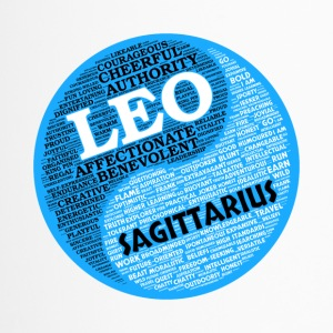 Leo and Sagittarius Zodiac Sign Man Love Mug - Travel Mug