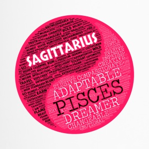 Scagittarius and Pisces Zodiac Sign Woman Love Mug - Travel Mug