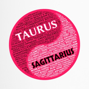 Taurus and Sagittarius Zodiac Sign Woman Love Mug - Travel Mug