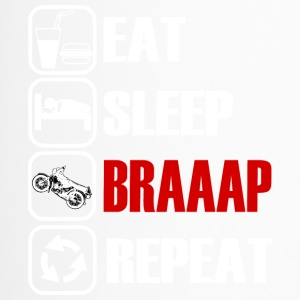 Eat Sleep Repeat Braaap - Simson S51 - Thermo mok