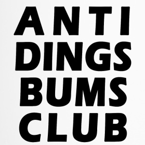 Anti Dings Bums Club - Thermobecher