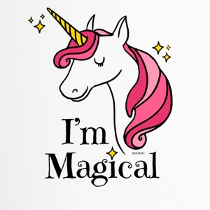 I'm Magical Unicorn T-shirt in White - Travel Mug